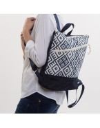 Tribal upholstery Backpack BLAVA