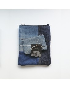 Small bag made of recycled jeans MINI4