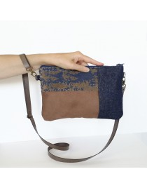 Small fabric crossbody bag