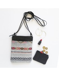 Mini Tribal bag with pocket